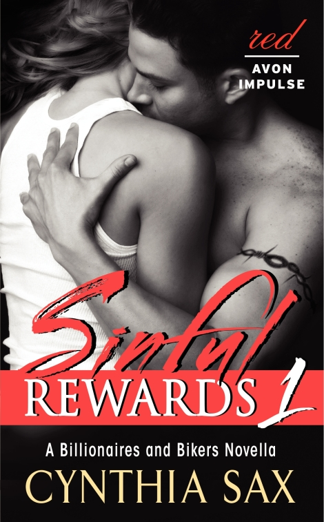 Cynthia Sax, Sinful Rewards, erotic romance, author