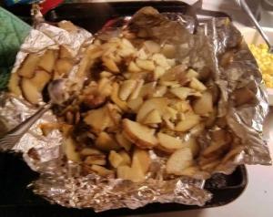 Creole Pouched Potato