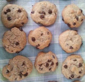 NGWN Whole Wheat Chocolate Chip Cookies