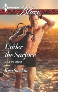 author Kira Sinclair, Under the Surface, Harlequin Blaze, romance author