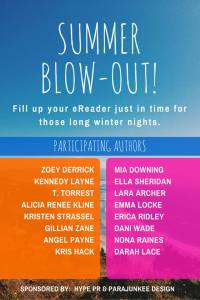 Summer blowout Sale, free books, romance authors