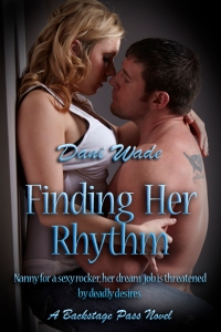 Finding Her Rhythm, Backstage Pass series, Dani Wade, rock star romance
