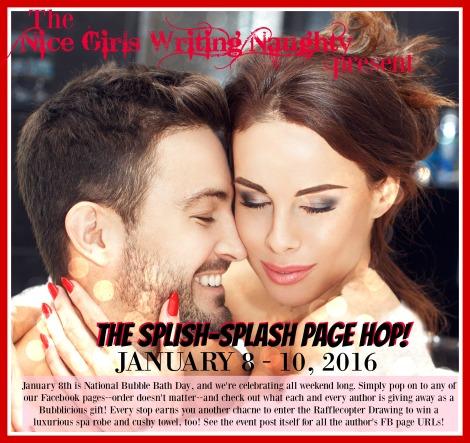 Nice Girls Writing Naughty, National Bubble Bath day, Splish Splash page hop, Angel Payne